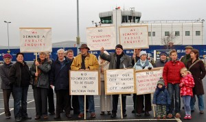 Increase in Airport Traffic by Green Party MLA Brian Wilson