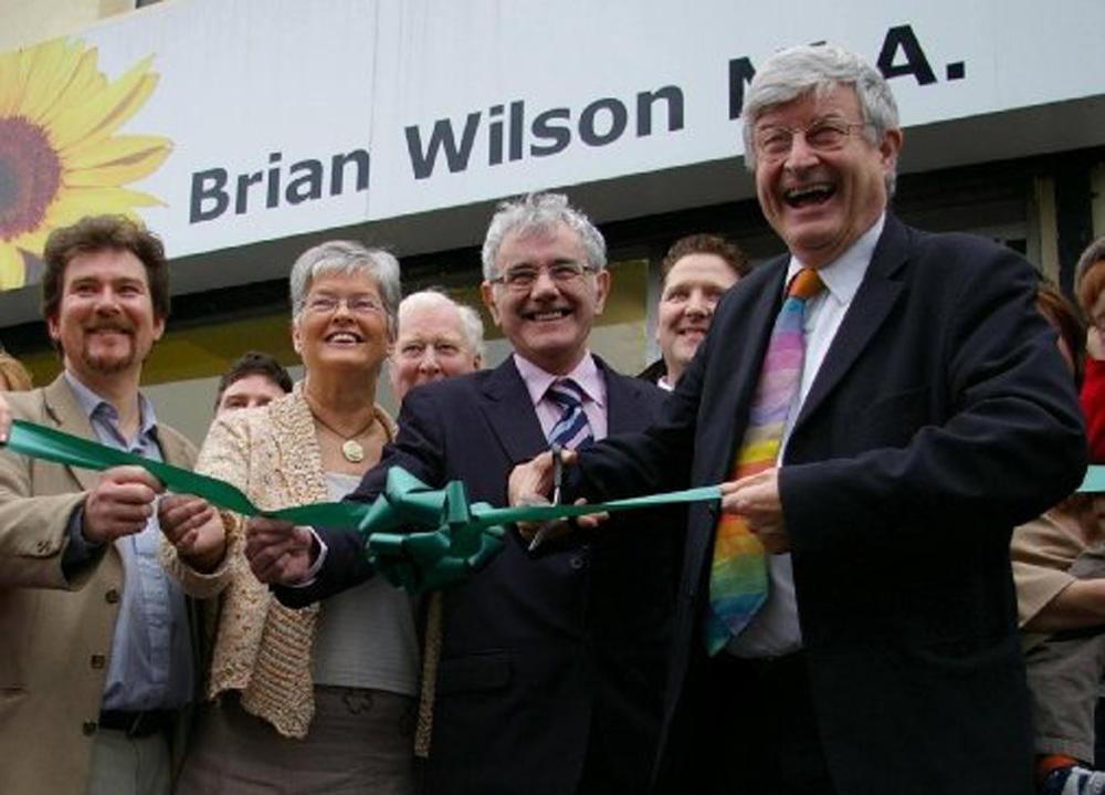MLA Green Party Northern Ireland MLA Brian Wilson