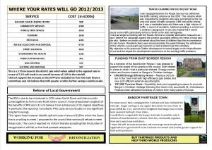 West Bangor News - Councillor Brian Wilson - Summer 2012 Back