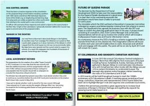 West Bangor News - Councillor Brian Wilson - North Down (Back 110)