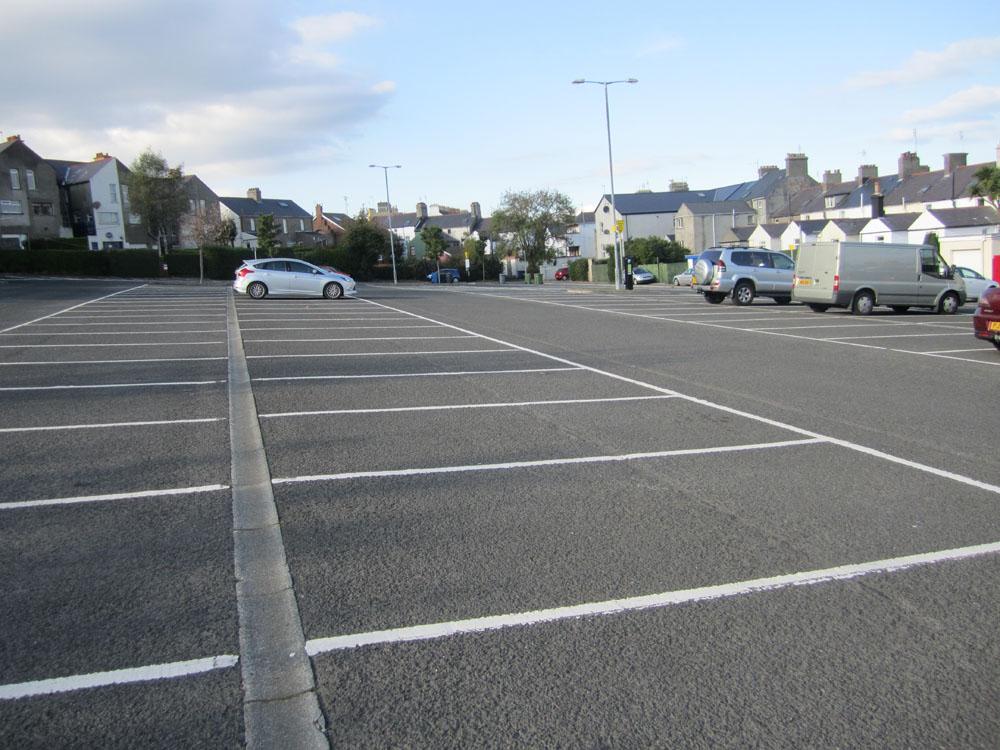 Car Parking At Bangor Ni Railway Station
